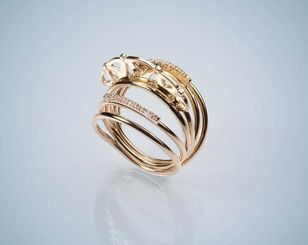 Gabriela Rigamonti gioielli in oro