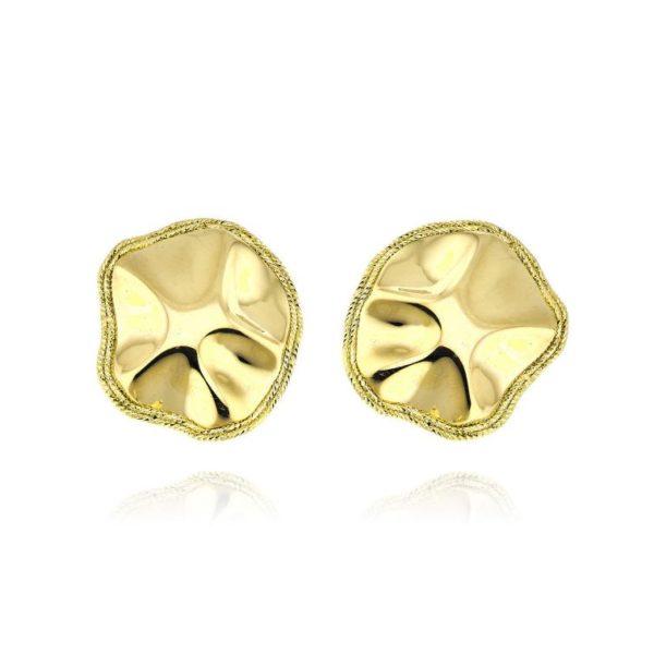 Orecchini Oro giallo-Glitter collection